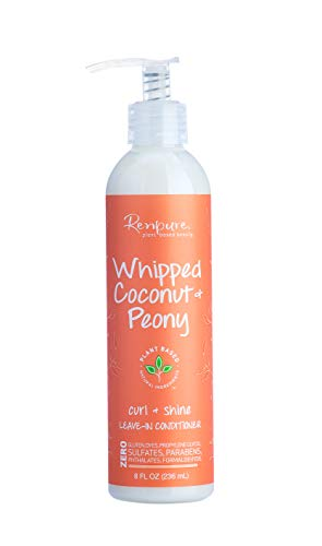 Renpure Whipped Coconut & Peony Leave-in Conditioner, 8 Ounce
