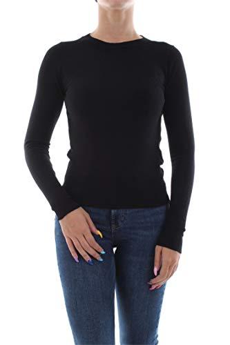 ONLY Damen ONLVENICE L/S O-Neck KNT Pullover, Black, M