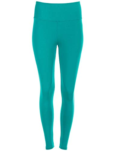 Winshape Damen Fitness Freizeit Sport Yoga Long Slim Tights Leggings, ocean-green, L