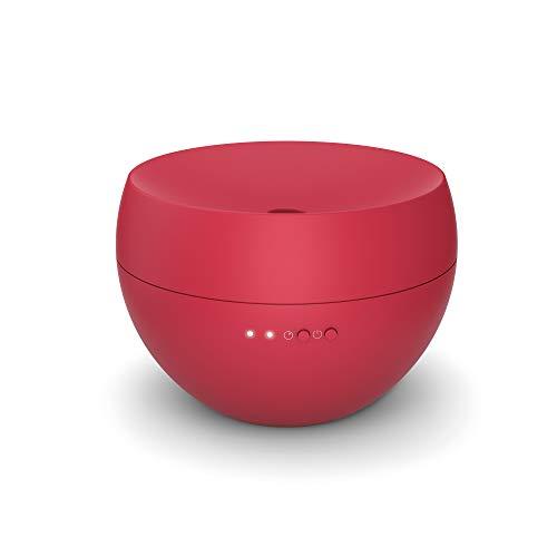 Stadler Form J-009 Jasmine, diffuseur d'arômes d'ambiance intervalles, convient à l'huile parfumée, durée de fonctionnement 24 h, chili red, 130 x 130 x 90 mm