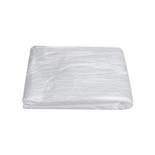 RIGO 100PCS Disposable Bed Couch Pad Cover Plastic Massage SPA Salon Table Sheet-Best for Use in spa Saunas
