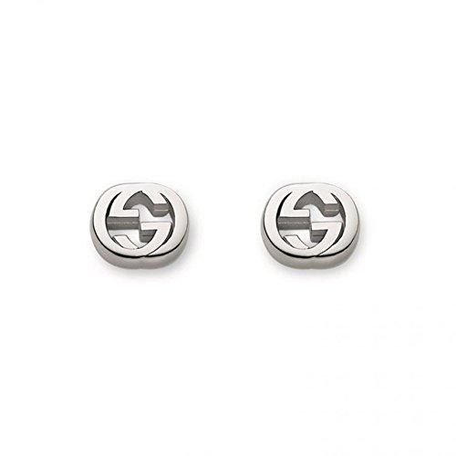Gucci Pendientes de botón Mujer Plata fina 925 - YBD35628900100U
