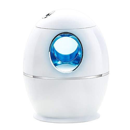 NAINAIWANG Ultrasónico Mini Humidificador Portátil 800ml Humidificadores de Niebla USB Aire de Vapor Silencioso con LED de Colores Dos Modos de atomización para Coche Mesa
