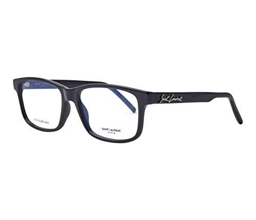 Yves Saint Laurent Brille (SL-319 001) Acetate Kunststoff schwarz glänzend