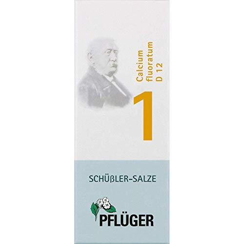 Pflüger Schüßler-Salz 1 Calcium fluoratum D12 Tabletten, 1000 St. Tabletten
