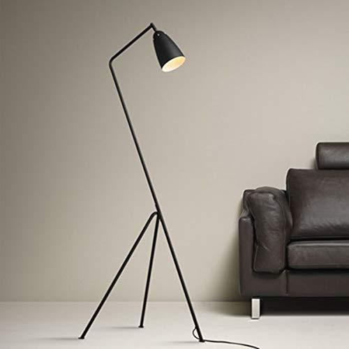 RanDal Black Modern Triangle Stehleuchte Light Metal Stehleuchte Für Wohnzimmer Holen Sie Sich Komplimente Stehleuchte Für Familienzimmer Schlafzimmer \U0026 Büros Schreibtisch Dimmbare Beleuchtung