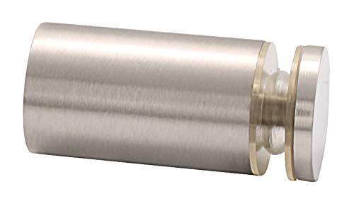 C.R. LAURENCE SDK212BN CRL Brushed Nickel Cylinder Style Single-Sided Shower Door Knob