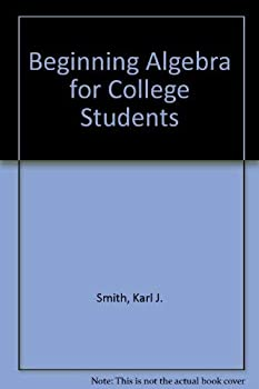 Beginning Algebra for College Students 0534027792 Book Cover