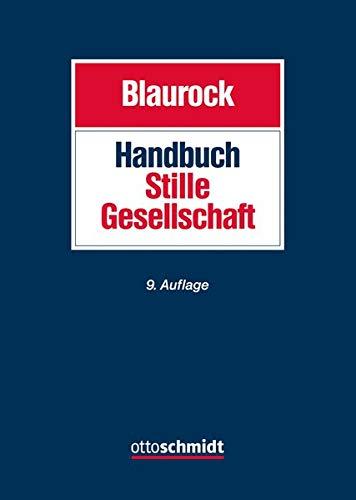 Handbuch Stille Gesellschaft: Gesellschaftsrecht Steuerrecht