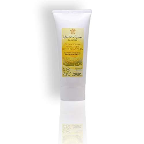 Sonnencreme Sehr Hoher Schutz (Spf 50+) - Ihre Reiche Formel Stärkt Und Befeuchtet Die Haut Und Verbessert Die Körpereigenen Abwehrkräfte - 100 ml