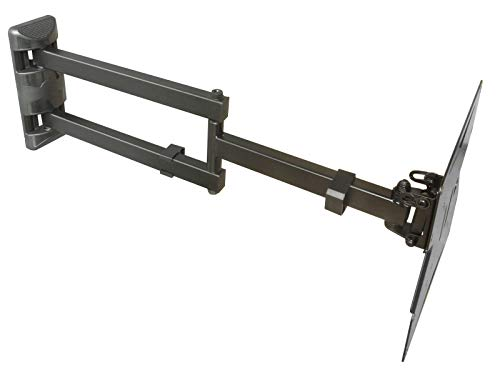 DRALL INSTRUMENTS TV Soporte universal de pared para TV - Pivotante Inclinable - TV Suspensión de pared para TV LCD HD 3D - 15-37 pulgadas - VESA 75 100 200x100 200 negro Modelo: S89B