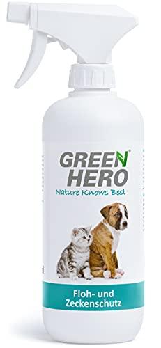 Green Hero Floh Zeckenspray Katzen Bild