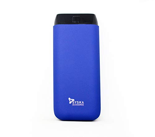 Syska 20000 mAh Power Bank(Dark Blue, Lithium Polymer)