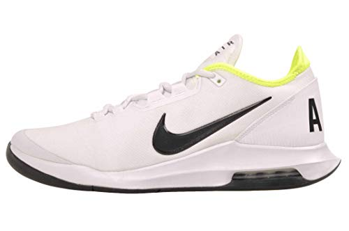 Nike Air MAX Wildcard, Tennis Shoe Hombre, Blanco/Voltio/Negro, 43 EU