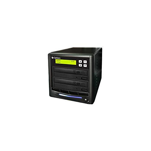 primera technology duplicators Optiarc 1 to 1 24X Burner M-Disc Support CD DVD Duplicator - Standalone Copier Duplication Tower (OPT-S1T-DVD-BK)