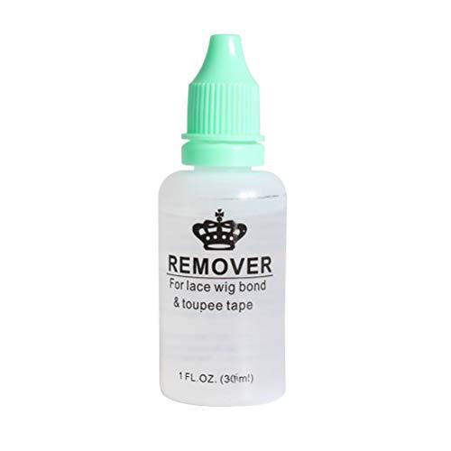 Lurrose 30ML peluca removedor de adhesivo peluca removedor de pegamento de unión para pelucas de encaje peluquines