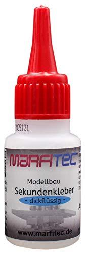 marfitec © Modellbau Sekundenkleber 20g dickflüssig - Standard Verschluss
