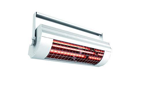 Solamagic 9100000 - Emisores de infrarrojos sm-1400w sin interruptor, color: blanco, dimensiones: 483x144x152mm, 230v