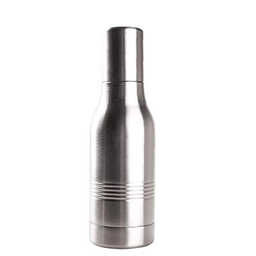 Stainless Steel Beer Bottle Sleeves Metal Bottle Insulated Holder and Insulator to Keep Drinks Colder, Longer for Outdoor Camping 12oz - Random Color