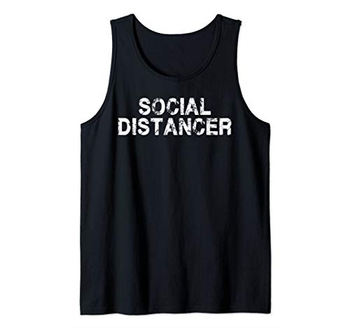 Social Distancer Social Distance Tank Top