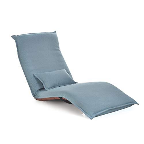 YUTRD ZCJUX Silla de salón Sala de Estar Muebles de Piso Ajustable cojín Plegable Plegable sofá Lento Cama (Color : C)
