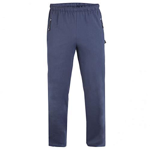 Authentic Klein, hautsympathische Herren Jerseyhose für Sport- und Freizeit aus 100% Baumwolle in Übergrößen; Kurze Größen; Lange Größen 53021 Blau