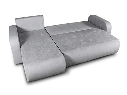 Ecksofa Couch –  günstig  Rino  Schlaffunktion Bild 2*