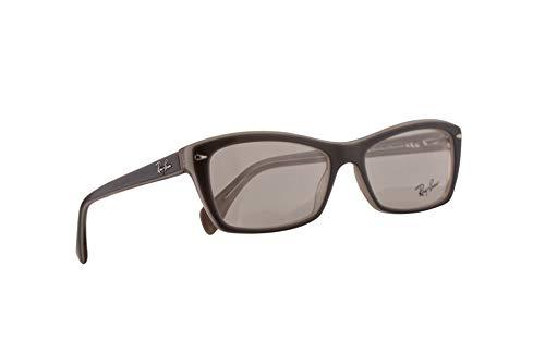 Ray-Ban RB 5255 Eyeglasses 53-16-135 Grey Ice Beige w/Demo Clear Lens 5778 RX RX5255 RB5255