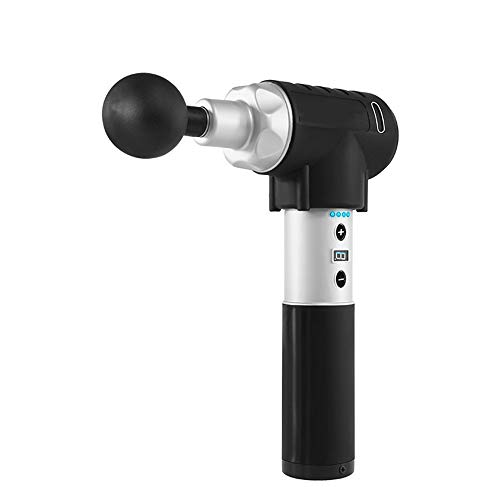 Lowest Prices! Lzour Massage Gun – Deep Tissue Massager Professional Cordless Device for Body Pain Relief – Portable, Muscle Stimulation Vibration Device Percussive Therapy Tool