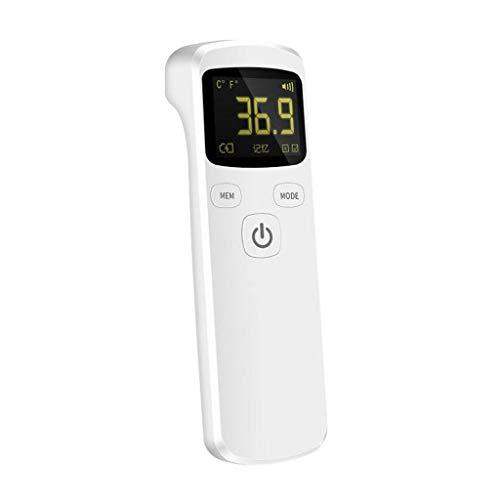 ZHX StirnTemperaturwerkzeug, genaues sofortiges Ablesen, Speicherfunktion LCD-Display professionelles berührungsloses digitales Infrarot Temperaturwerkzeug, geeignet für Babys, Kinder, Erwachsene (A)