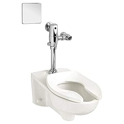 American Standard 3351.101.020 Afwall Millennium 1.1 - 1.6 gpf Elongated Toilet Bowl Only with EverClean