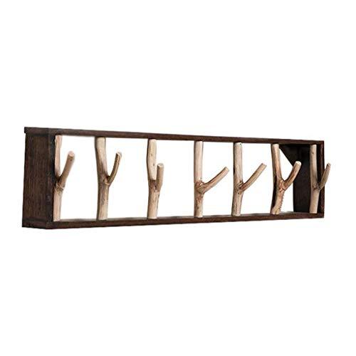 OMING Percheros de Pared Puerta de Entrada de Toallas de baño Gancho Creativo de la ramita Styling Gancho Habitación Sala Hanger Perchero de Pared Carril de Gancho Moderno