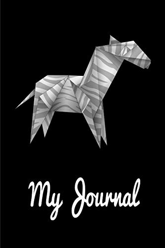 My Journal. For Origami Lover. Blank Lined Planner Notebook Diary.