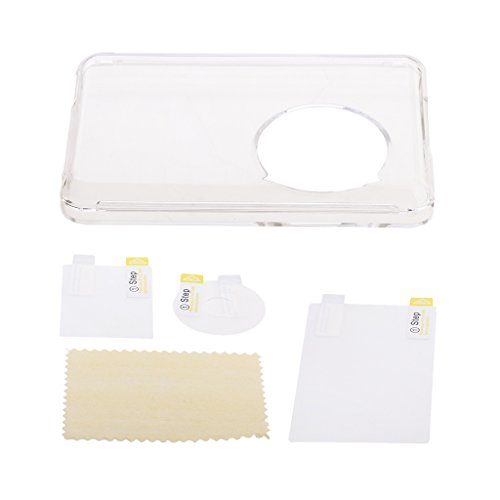 Homyl Plastik Schutzhülle Case+MP3 Player Screen Schutzfolie mit Reinigungstuch für IPod Classic 80gb 120gb 160gb