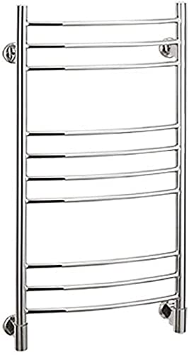 N/Z Home Furnishings Bathroom Radiator Towel Rail Intelligent Thermostat Electric Towel Rack Wall Mounted Modern Style Suitable for Hotels and Home Plugin