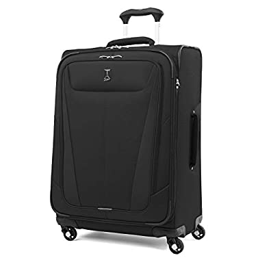 Travelpro Luggage Maxlite 5 25  Lightweight Expandable Spinner Suitcase, Black