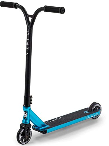 Buy Bargain Slamm Scooters Assault IV Skateboard Unisex Adult, Unisex_Adult, SL1416, Blue, one Size