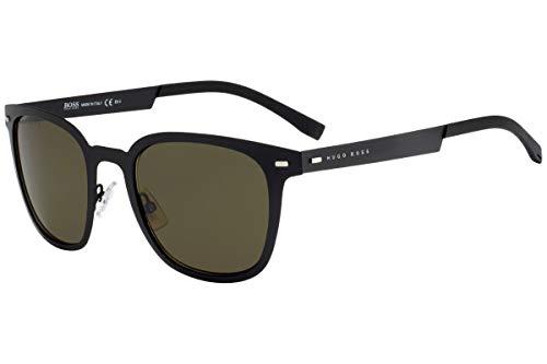 Hugo Boss Männer 0936 / S Sonnenbrille w/braun Objektiv 50mm 00370 0936S Matt-schwarz groß