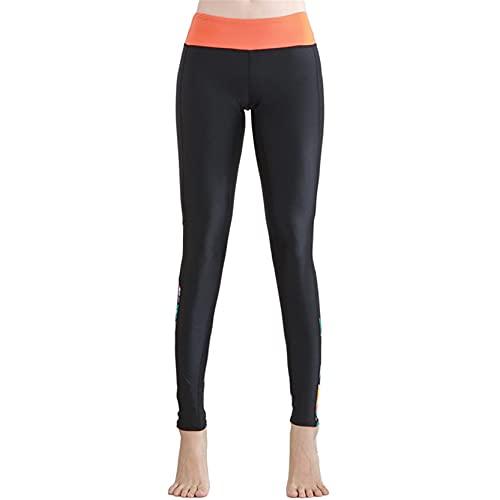 Leggins Mujer Fitness Mallas Gimnasio Pilates, Malla de mujer Patchwork High Cintura Skinny Mights Yoga Pantalones Ladies Flower Prints Pantalones de ejercicios de ejercicios Pantalones de fitness par