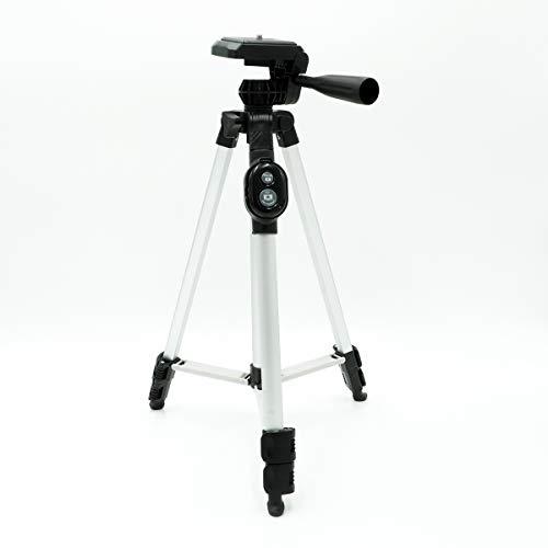 Tripood S200 - Trípode de aluminio para smartphone y cámara con disparador remoto