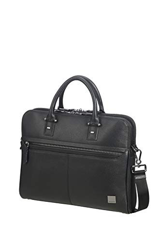SAMSONITE Senzil - Slim Aktentasche, 38.5 cm, 11 Liter, Black