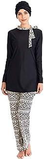 ODIN-Muslim Swimwear - Muslim Swimwear Women Modest Hijab Plus Size Burkinis Wear Swimming Bathing Suit Beach Full Coverag...