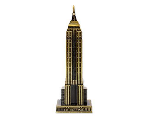 SCSpecial Empire State Building Statue de 18 cm en alliage de zinc pour décoration d'intérieur