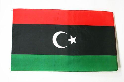 AZ FLAG Libya Flag 3' x 5' - Libyan Flags 90 x 150 cm - Banner 3x5 ft