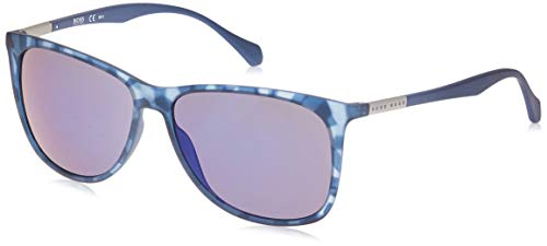BOSS Hugo 0823/S XT Occhiali da Sole, Blue Havana, 58 Unisex-Adulto