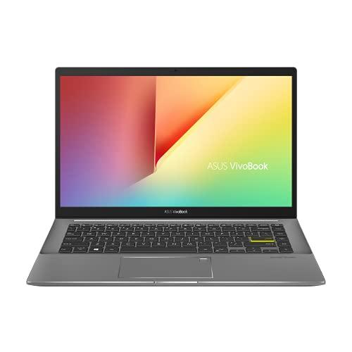 ASUS VivoBook S14 S433IA-HM756 Laptop 35.5 cm (14 Zoll, Full HD, 1920x1080, IPS-Level, 400 nits, matt) Notebook (AMD Ryzen R5-4500U, 8GB RAM, 512GB SSD,AMD Radeon R3 graphics,Win10 Home) Indie Black