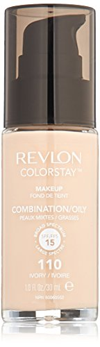 Revlon ColorStay Makeup with SoftFlex SPF6 Combination/Oily Skin 110 Ivory, 1 Ounce