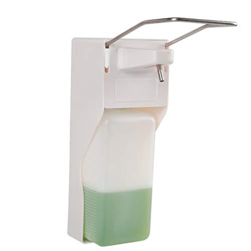 Dispensador de jabón de Primera Calidad 1000ml dispensador de jabón Elbow Emulsión dosificador montado en Pared de jabón Limpiador es Adecuado for hospitales y hoteles Bomba a Prueba de óxido