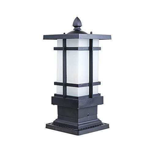 NXYJD Einfach im Freien Wasserdichten Garten-Lampe, kreative Aisle im Freien Garten-Stehlampe an der Außenwand