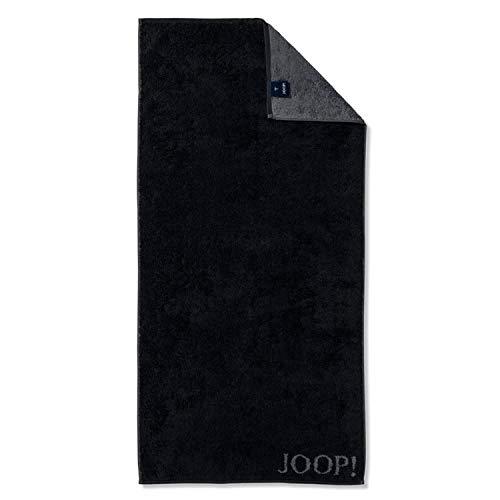 Joop! Handtuch Classic Doubleface 1600 | 90 schwarz - 50 x 100
